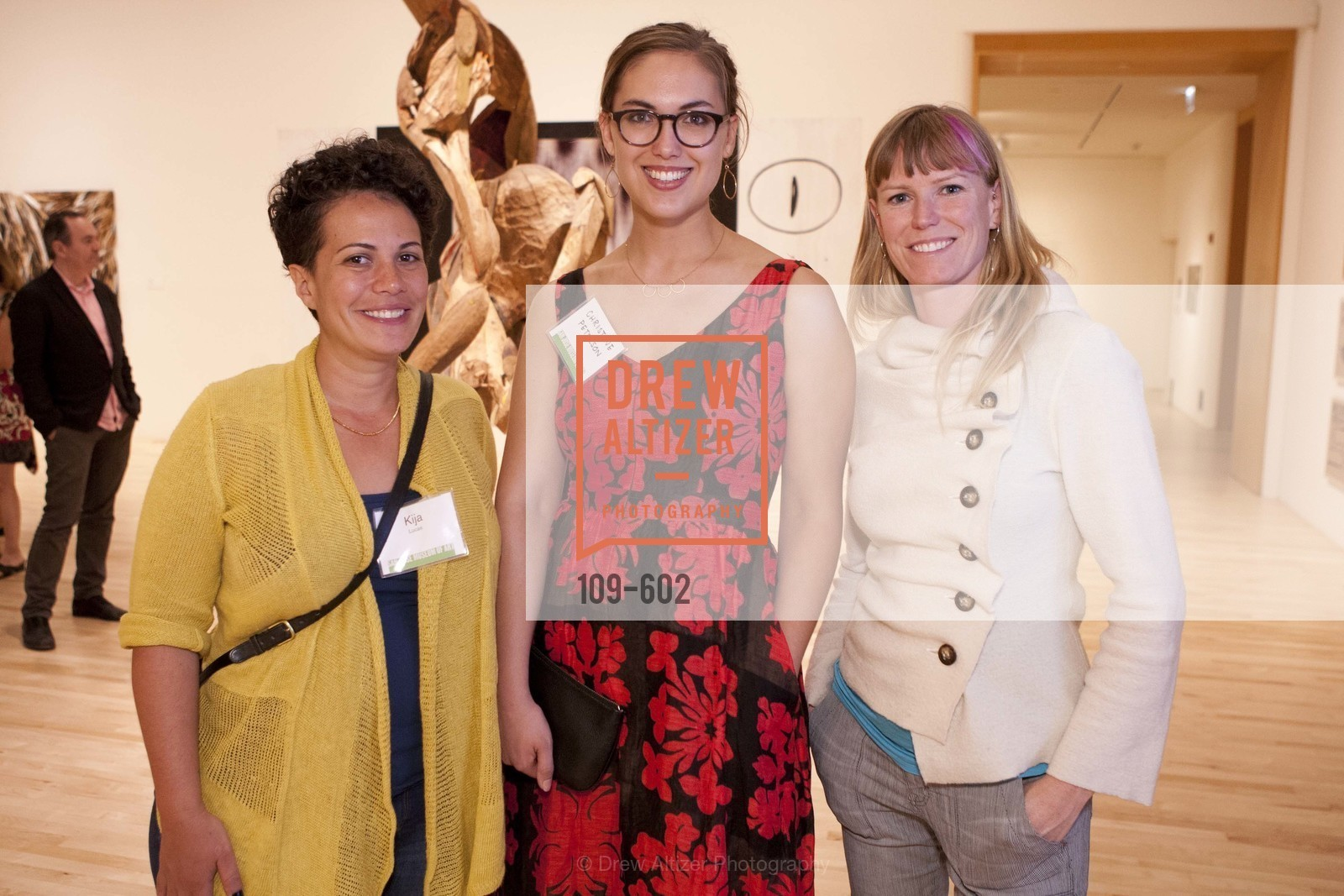 Kija Lucas, Christine Peterson, Jennifer Berry, SAN JOSE MUSEUM OF ART Fall Reception Opening, US, October 8th, 2014,Drew Altizer, Drew Altizer Photography, full-service agency, private events, San Francisco photographer, photographer california