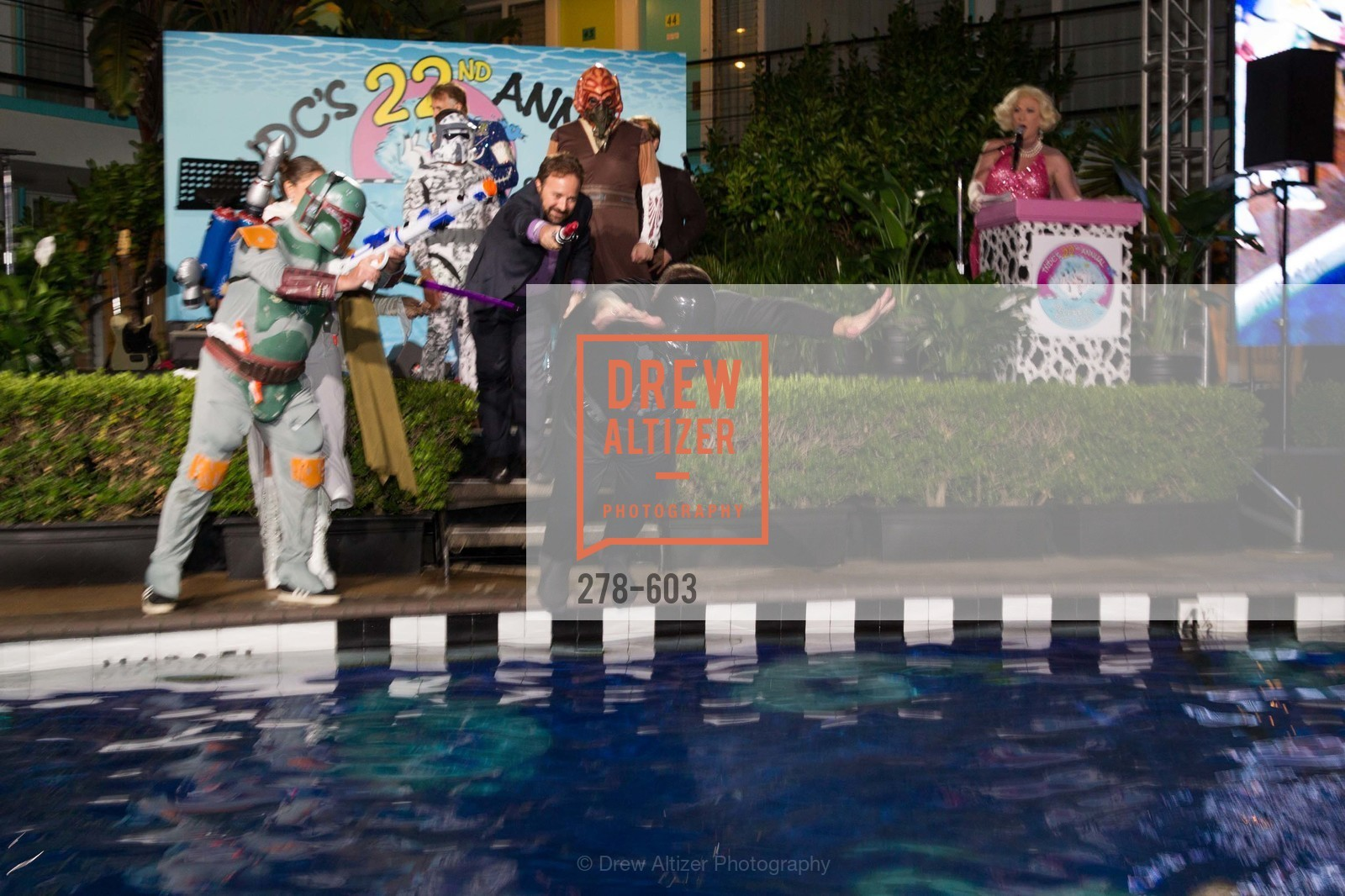 David Perry, 22nd Annual TNDC CELEBRITY POOL TOSS, US, October 8th, 2014,Drew Altizer, Drew Altizer Photography, full-service agency, private events, San Francisco photographer, photographer california