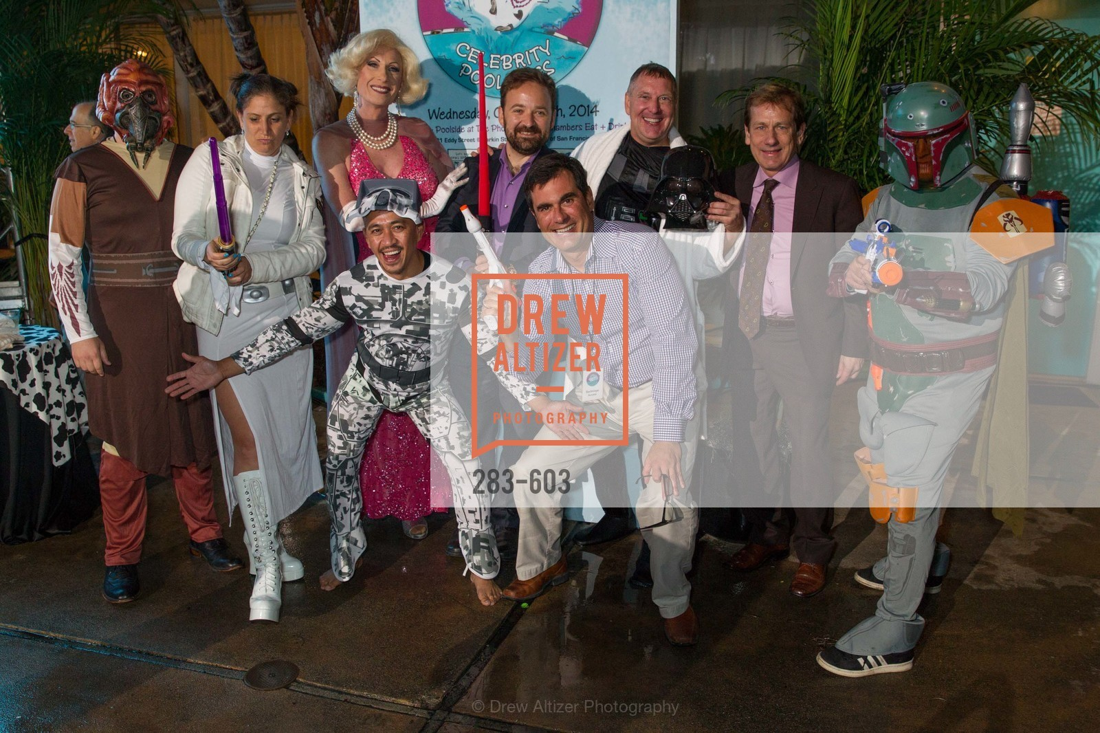 Jamie Teiser, Donna Sachet, Chris Taylor, Alfredo Casuso, David Perry, Paul Melbostad, 22nd Annual TNDC CELEBRITY POOL TOSS, US, October 9th, 2014,Drew Altizer, Drew Altizer Photography, full-service agency, private events, San Francisco photographer, photographer california