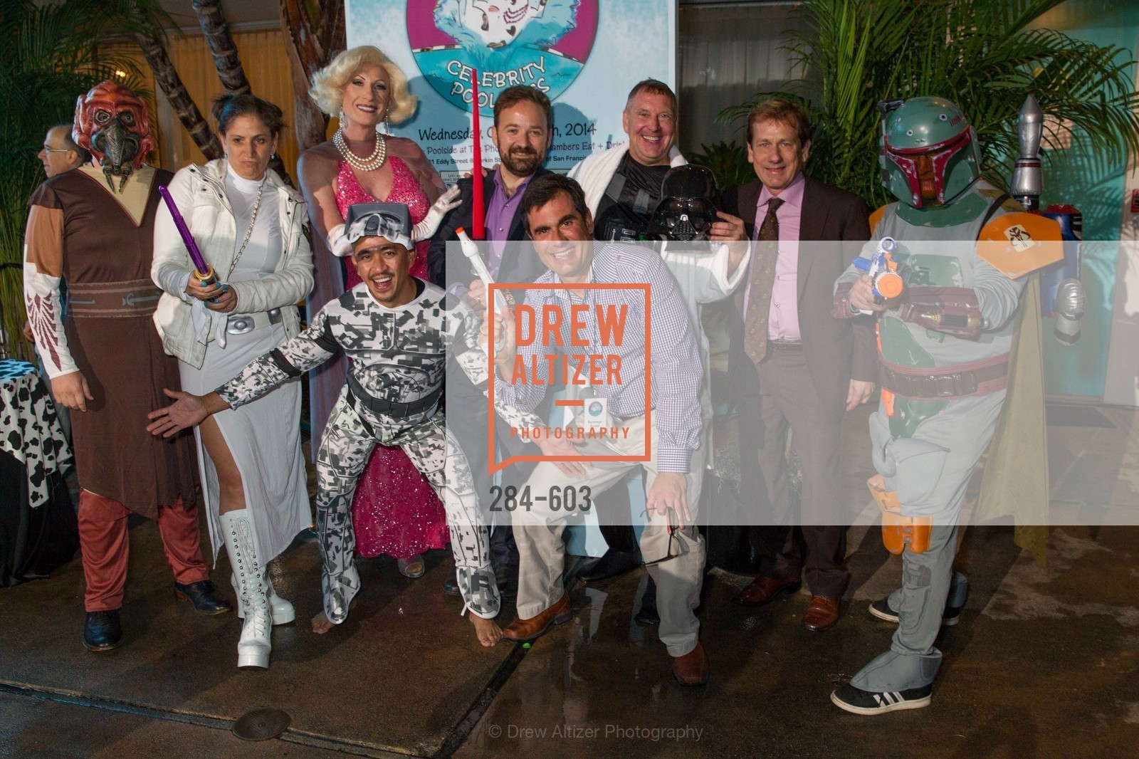 Jamie Teiser, Donna Sachet, Chris Taylor, Alfredo Casuso, David Perry, Paul Melbostad, 22nd Annual TNDC CELEBRITY POOL TOSS, US, October 8th, 2014,Drew Altizer, Drew Altizer Photography, full-service agency, private events, San Francisco photographer, photographer california