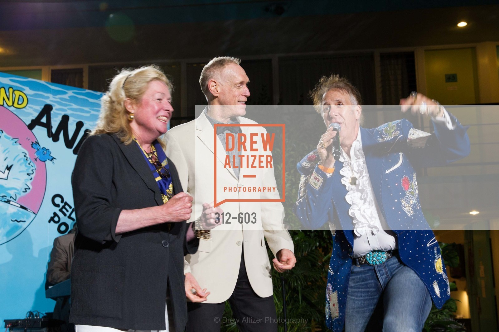Laura King Pfaff, Tom Kelley, Bud E. Love, 22nd Annual TNDC CELEBRITY POOL TOSS, US, October 9th, 2014,Drew Altizer, Drew Altizer Photography, full-service agency, private events, San Francisco photographer, photographer california