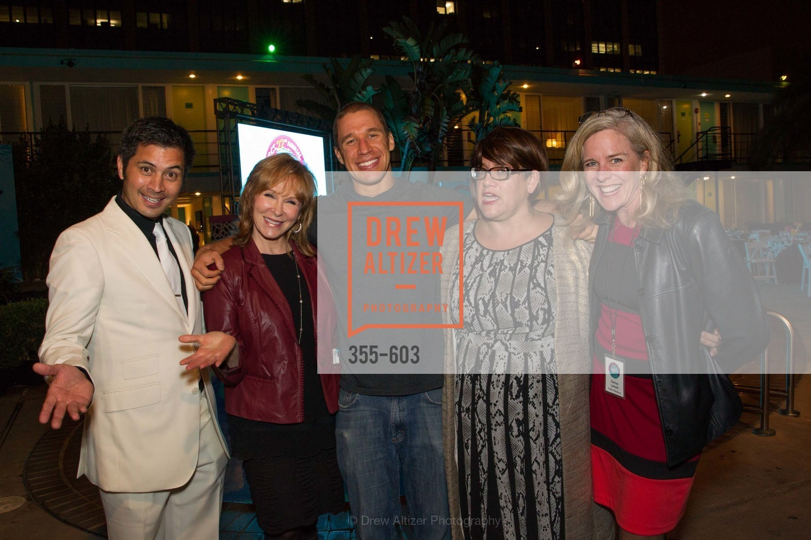 Rafael Musni, Cheryl Jennings, AJ Kirsch, Denise Lamott, 22nd Annual TNDC CELEBRITY POOL TOSS, US, October 8th, 2014,Drew Altizer, Drew Altizer Photography, full-service agency, private events, San Francisco photographer, photographer california