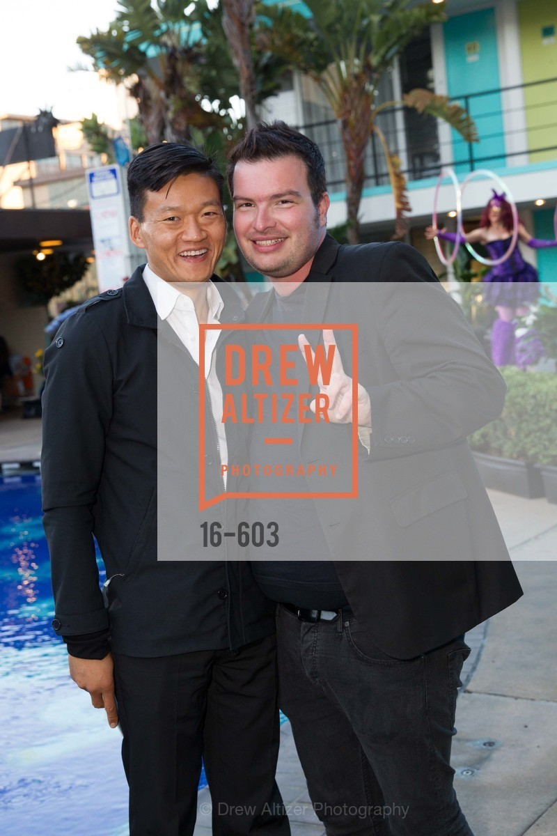 Dan Choi, Jason Brock, 22nd Annual TNDC CELEBRITY POOL TOSS, US, October 9th, 2014,Drew Altizer, Drew Altizer Photography, full-service agency, private events, San Francisco photographer, photographer california