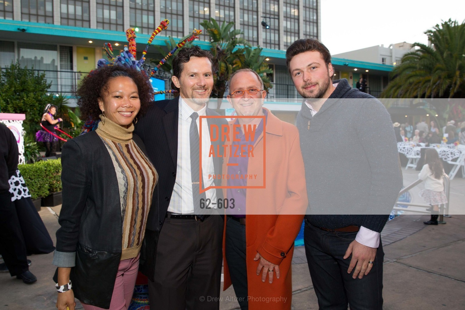 Dori Caminong, Curtis Maughlin, Charles Zukow, James Smith, 22nd Annual TNDC CELEBRITY POOL TOSS, US, October 9th, 2014,Drew Altizer, Drew Altizer Photography, full-service agency, private events, San Francisco photographer, photographer california