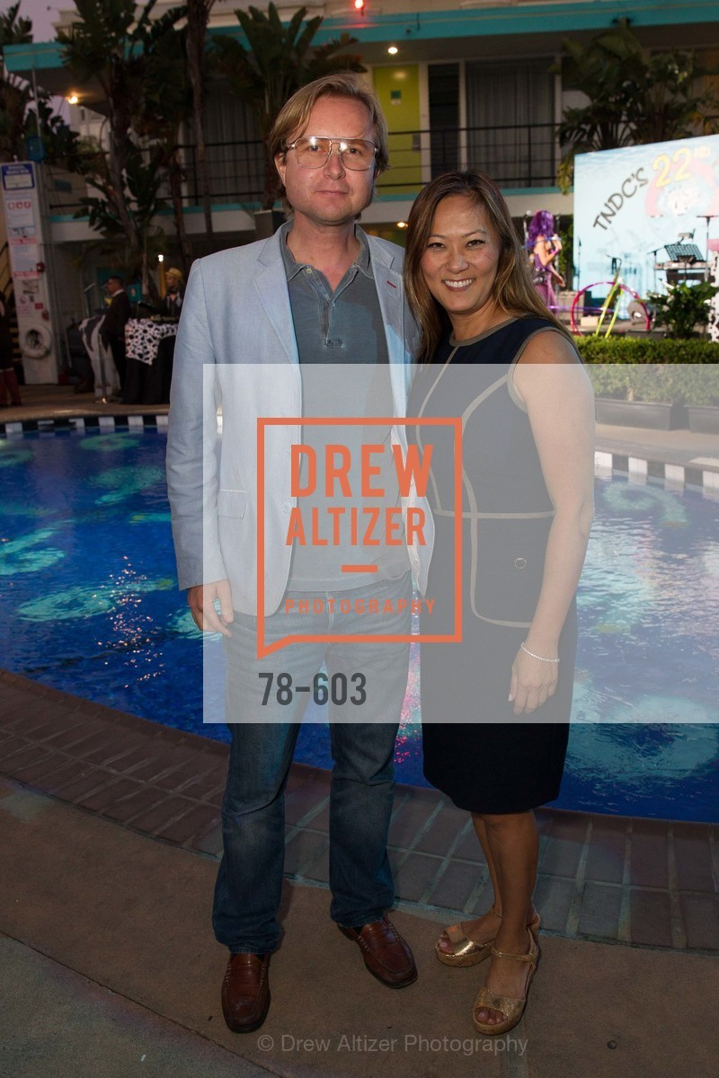 Alexander Borve, Elizabeth Fullerton, 22nd Annual TNDC CELEBRITY POOL TOSS, US, October 9th, 2014,Drew Altizer, Drew Altizer Photography, full-service agency, private events, San Francisco photographer, photographer california
