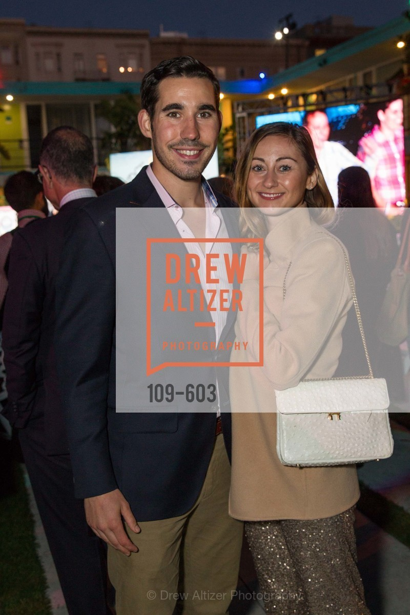 George Revel, Rebecca Miller, 22nd Annual TNDC CELEBRITY POOL TOSS, US, October 9th, 2014,Drew Altizer, Drew Altizer Photography, full-service agency, private events, San Francisco photographer, photographer california