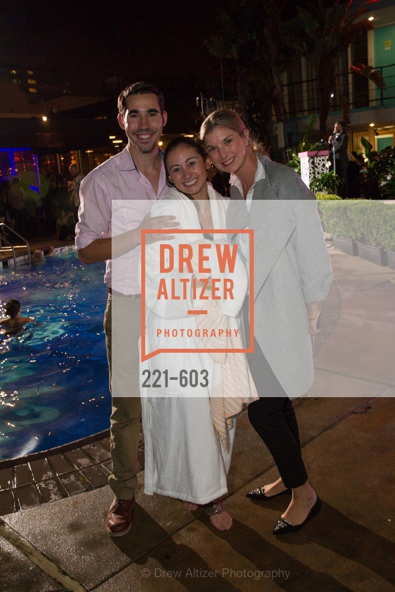 George Revel, Rebecca Miller, Cameron Phleger, 22nd Annual TNDC CELEBRITY POOL TOSS, US, October 9th, 2014,Drew Altizer, Drew Altizer Photography, full-service agency, private events, San Francisco photographer, photographer california