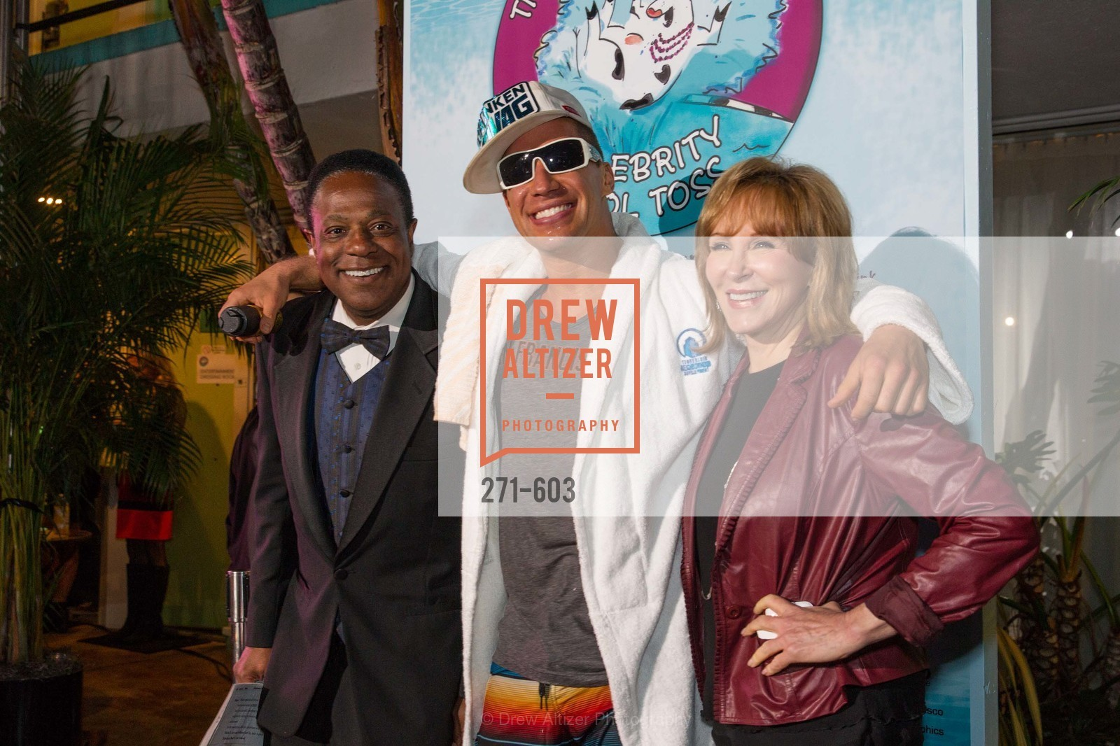 Brian Copeland, AJ Kirsch, Cheryl Jennings, 22nd Annual TNDC CELEBRITY POOL TOSS, US, October 8th, 2014,Drew Altizer, Drew Altizer Photography, full-service agency, private events, San Francisco photographer, photographer california