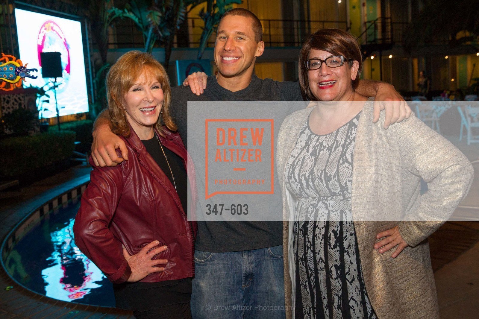 Cheryl Jennings, AJ Kirsch, 22nd Annual TNDC CELEBRITY POOL TOSS, US, October 9th, 2014,Drew Altizer, Drew Altizer Photography, full-service agency, private events, San Francisco photographer, photographer california