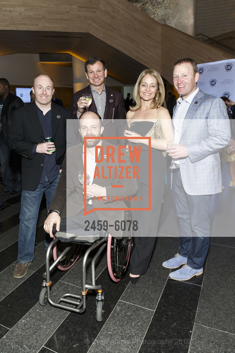 Andre Kajlich, Luke Boland, Nancy Boland, Challenged Athletes Foundation Inaugural Celebration of Heart Benefit 2018, SFMOMA. 151 Third Street, February 27th, 2018,Drew Altizer, Drew Altizer Photography, full-service agency, private events, San Francisco photographer, photographer california