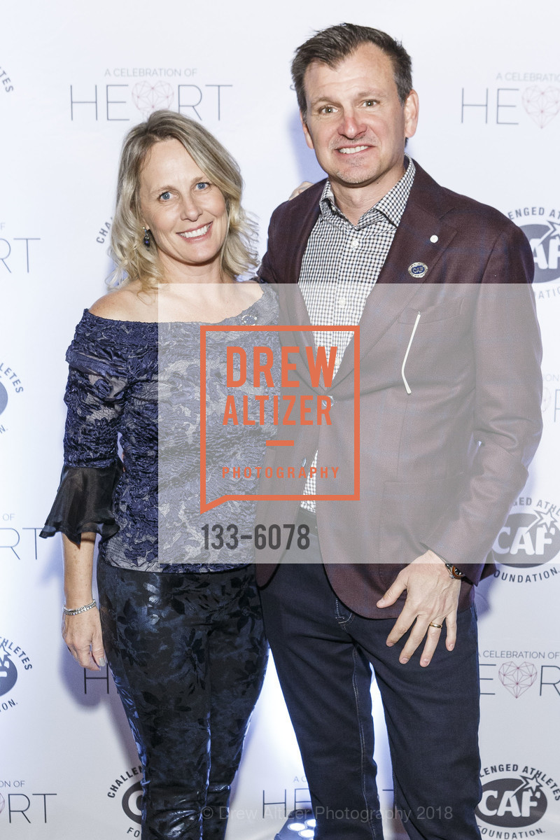 Julie Hughes, Michael Hughes, Challenged Athletes Foundation Inaugural Celebration of Heart Benefit 2018, SFMOMA. 151 Third Street, February 27th, 2018