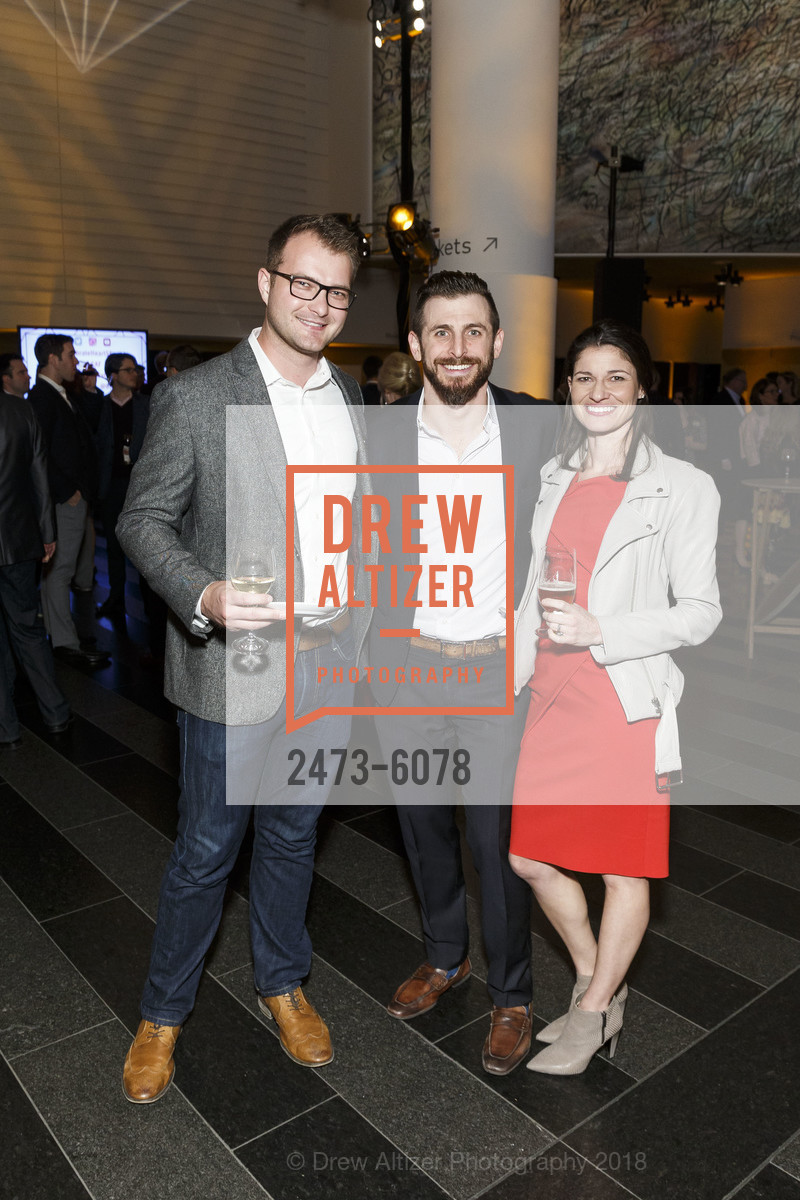 Ryan Shanken, Ces, Lisa, Challenged Athletes Foundation Inaugural Celebration of Heart Benefit 2018, SFMOMA. 151 Third Street, February 27th, 2018,Drew Altizer, Drew Altizer Photography, full-service agency, private events, San Francisco photographer, photographer california