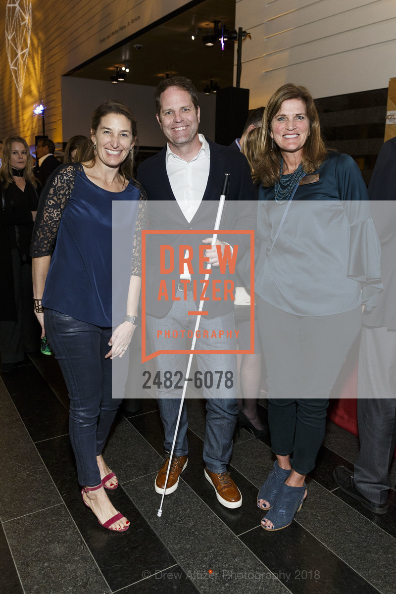 Laura Wolf Stein, Colin Johnson, Nancy Reynolds, Challenged Athletes Foundation Inaugural Celebration of Heart Benefit 2018, SFMOMA. 151 Third Street, February 27th, 2018,Drew Altizer, Drew Altizer Photography, full-service agency, private events, San Francisco photographer, photographer california