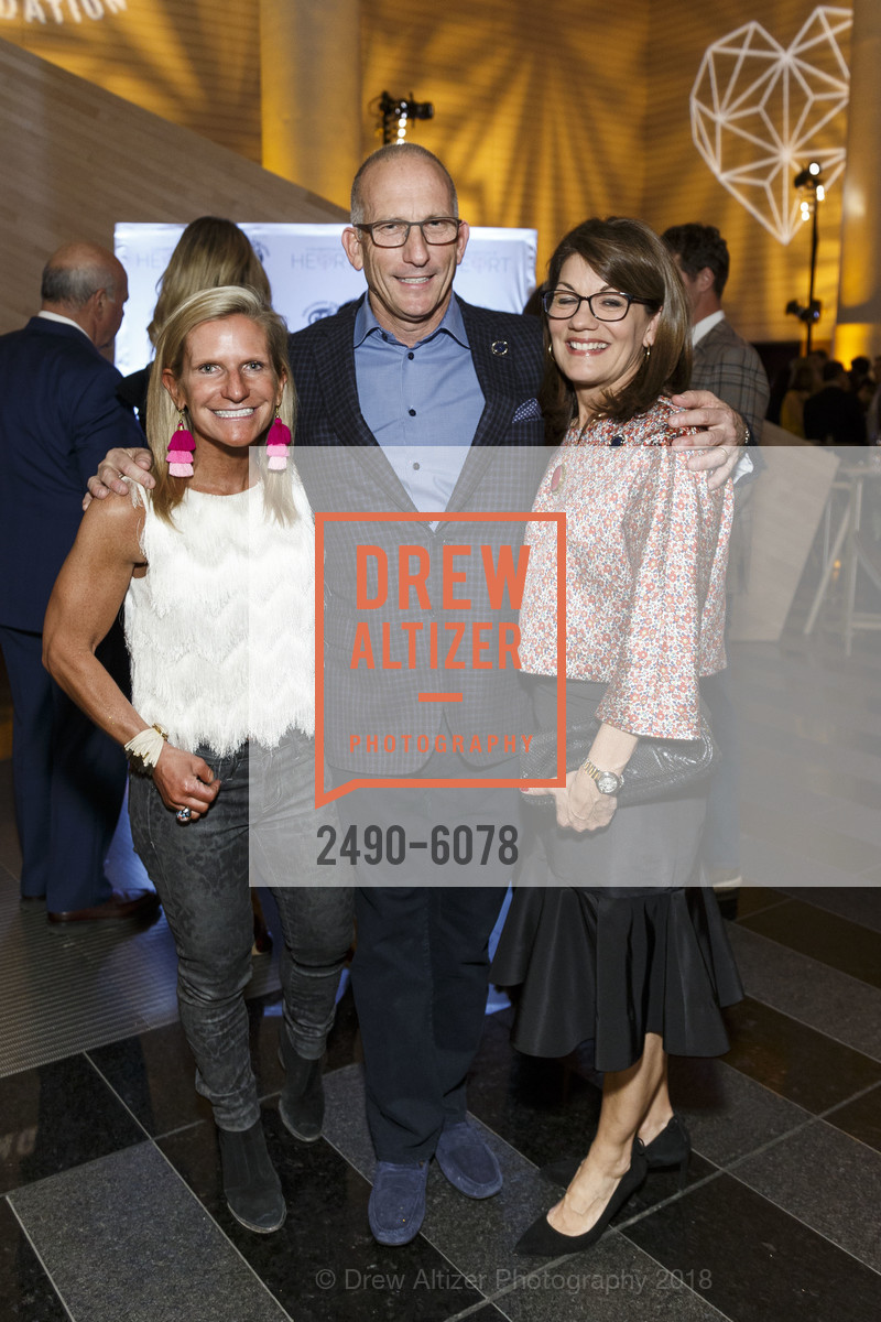 Tracey Gillette, Alan Shanken, Allison Caccoma, Challenged Athletes Foundation Inaugural Celebration of Heart Benefit 2018, SFMOMA. 151 Third Street, February 27th, 2018