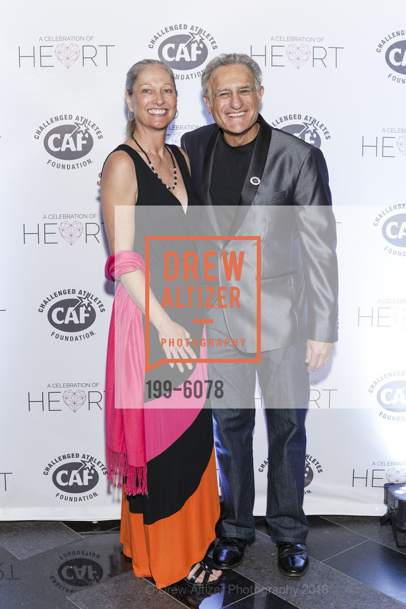 Heidi Janzen, Bob Babbitt, Challenged Athletes Foundation Inaugural Celebration of Heart Benefit 2018, SFMOMA. 151 Third Street, February 27th, 2018