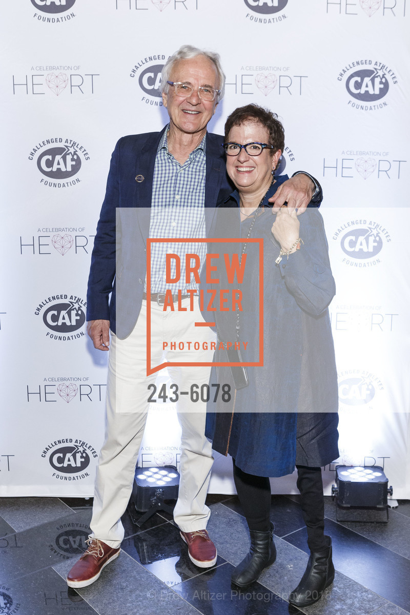 Jim Lauer, Susan Levine, Challenged Athletes Foundation Inaugural Celebration of Heart Benefit 2018, SFMOMA. 151 Third Street, February 27th, 2018,Drew Altizer, Drew Altizer Photography, full-service agency, private events, San Francisco photographer, photographer california
