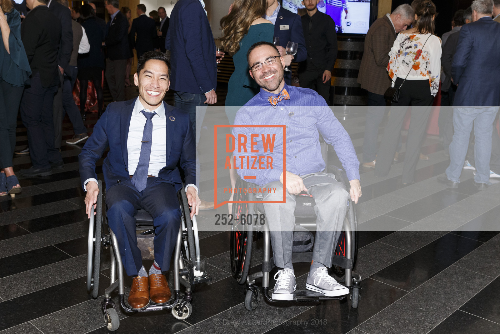 Stephen Toyoji, Rob Balucas, Challenged Athletes Foundation Inaugural Celebration of Heart Benefit 2018, SFMOMA. 151 Third Street, February 27th, 2018