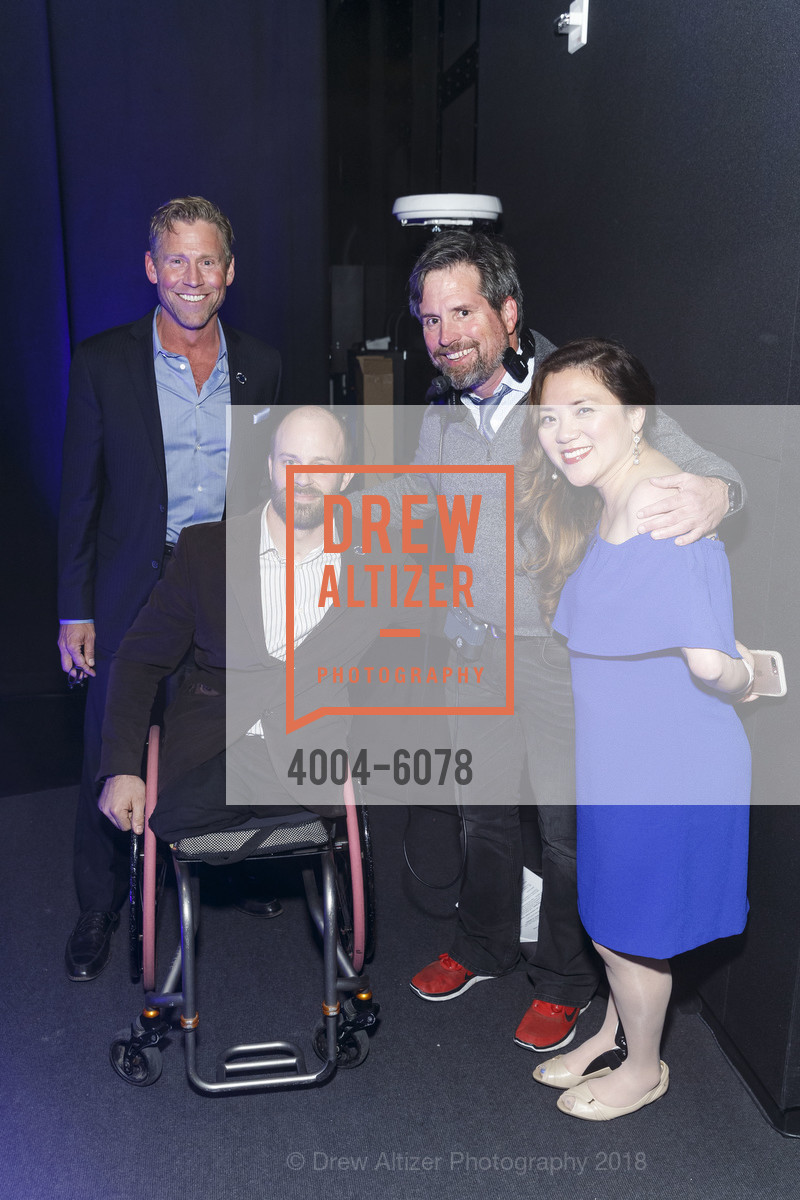 Craig Hummer, Andre Kajlich, Diane Ngo, Challenged Athletes Foundation Inaugural Celebration of Heart Benefit 2018, SFMOMA. 151 Third Street, February 27th, 2018,Drew Altizer, Drew Altizer Photography, full-service agency, private events, San Francisco photographer, photographer california