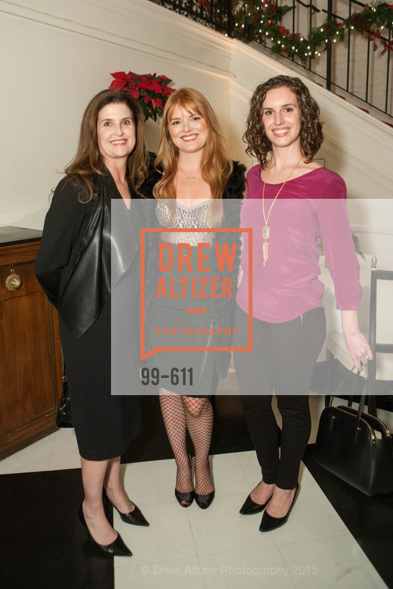Jennifer Mewha, Lynn Yeager, Amy Drew, San Francisco Ballet Auxiliary's Gala Launch party hosted by La Perla., VILLA TAVERA. 27 HOTALING PLACE, December 1st, 2015,Drew Altizer, Drew Altizer Photography, full-service agency, private events, San Francisco photographer, photographer california