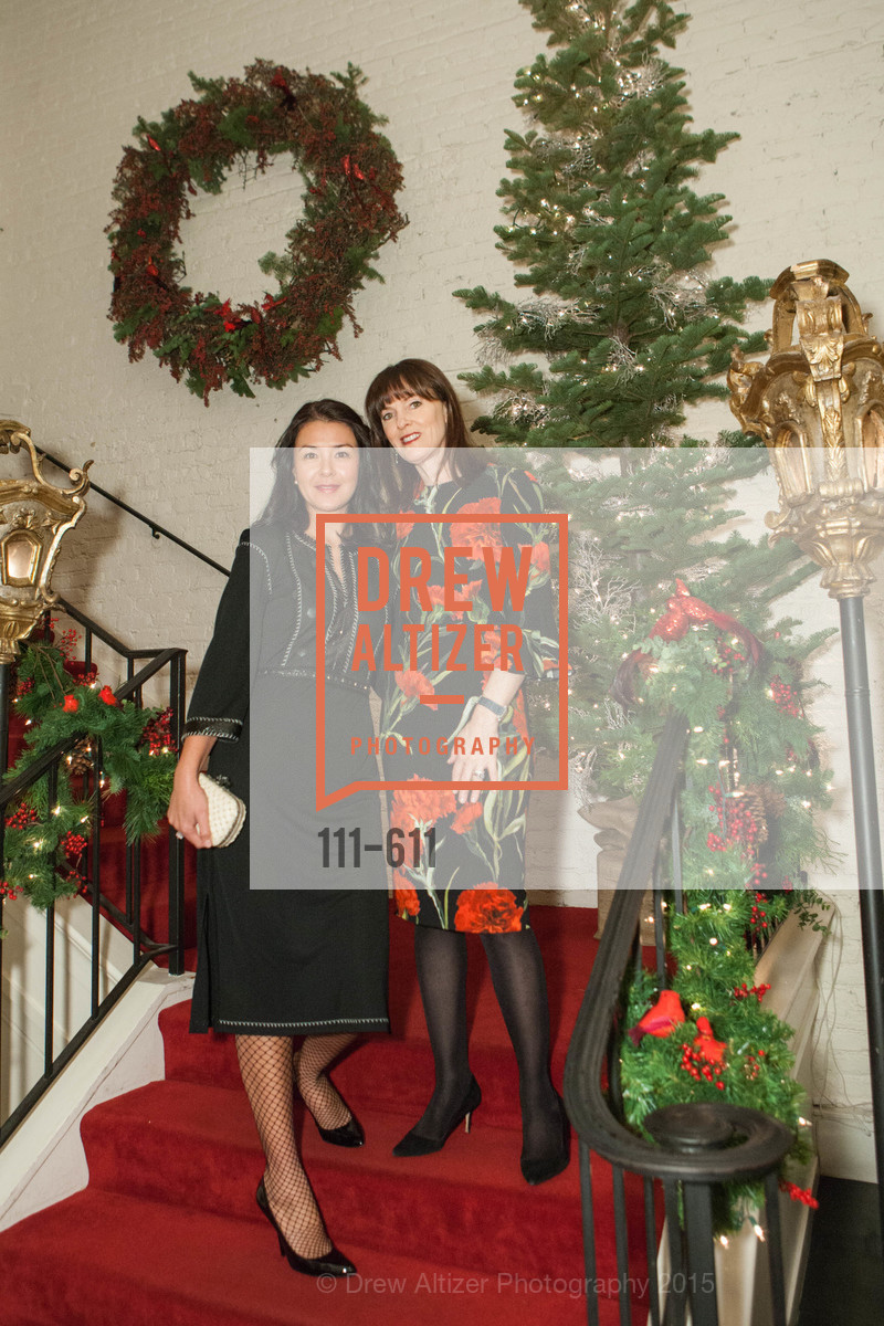 Phoebe Mireles, Allison Speer, San Francisco Ballet Auxiliary's Gala Launch party hosted by La Perla., VILLA TAVERA. 27 HOTALING PLACE, December 1st, 2015,Drew Altizer, Drew Altizer Photography, full-service agency, private events, San Francisco photographer, photographer california