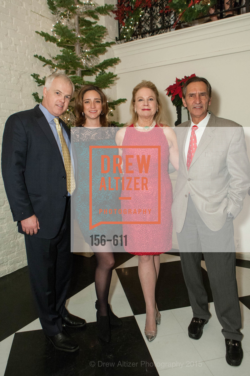 Stan Riddle, Monika Moscoso, Claire Kostic, Mark Kostic, San Francisco Ballet Auxiliary's Gala Launch party hosted by La Perla., VILLA TAVERA. 27 HOTALING PLACE, December 1st, 2015,Drew Altizer, Drew Altizer Photography, full-service agency, private events, San Francisco photographer, photographer california