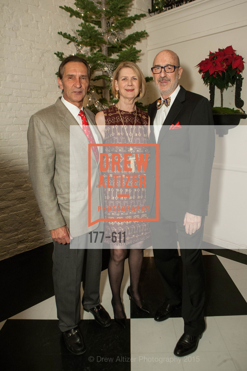 Mark Kostic, Kate Coffino, Sol Coffino, San Francisco Ballet Auxiliary's Gala Launch party hosted by La Perla., VILLA TAVERA. 27 HOTALING PLACE, December 1st, 2015,Drew Altizer, Drew Altizer Photography, full-service agency, private events, San Francisco photographer, photographer california