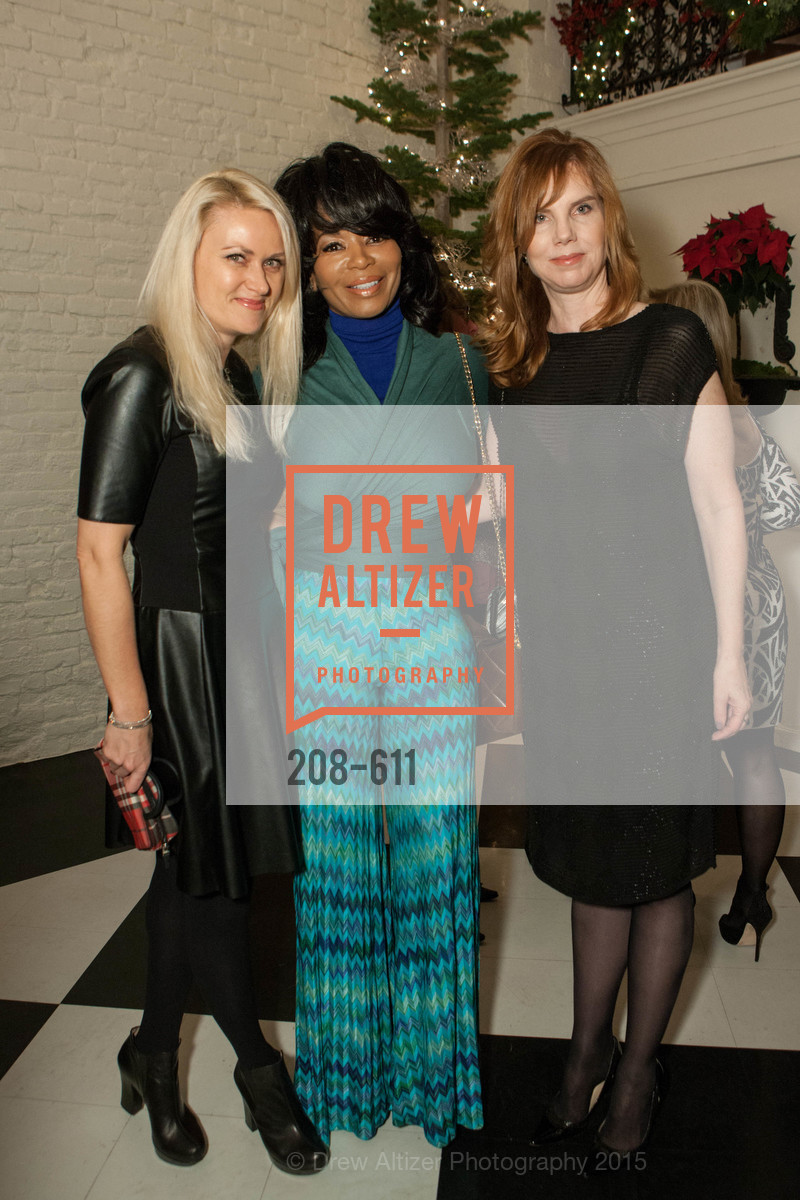 Maria Ralph, Tanya Powell, Brenda Leff, San Francisco Ballet Auxiliary's Gala Launch party hosted by La Perla., VILLA TAVERA. 27 HOTALING PLACE, December 1st, 2015,Drew Altizer, Drew Altizer Photography, full-service agency, private events, San Francisco photographer, photographer california