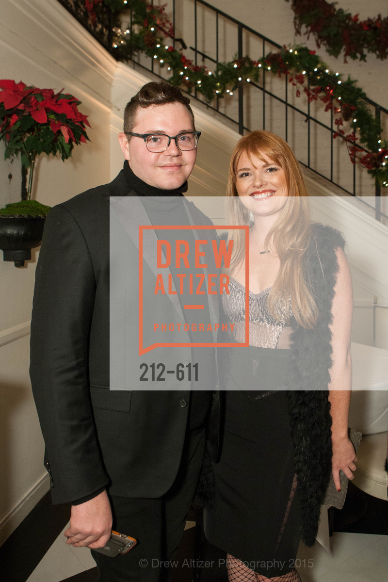 Robert Brotherton, Lynn Yeager, San Francisco Ballet Auxiliary's Gala Launch party hosted by La Perla., VILLA TAVERA. 27 HOTALING PLACE, December 1st, 2015,Drew Altizer, Drew Altizer Photography, full-service agency, private events, San Francisco photographer, photographer california