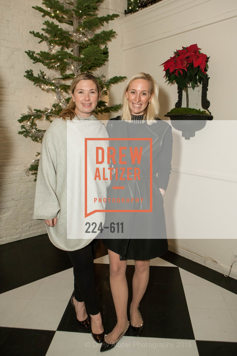 Michelle Harris, Maria Hemphill, San Francisco Ballet Auxiliary's Gala Launch party hosted by La Perla., VILLA TAVERA. 27 HOTALING PLACE, December 1st, 2015,Drew Altizer, Drew Altizer Photography, full-service agency, private events, San Francisco photographer, photographer california