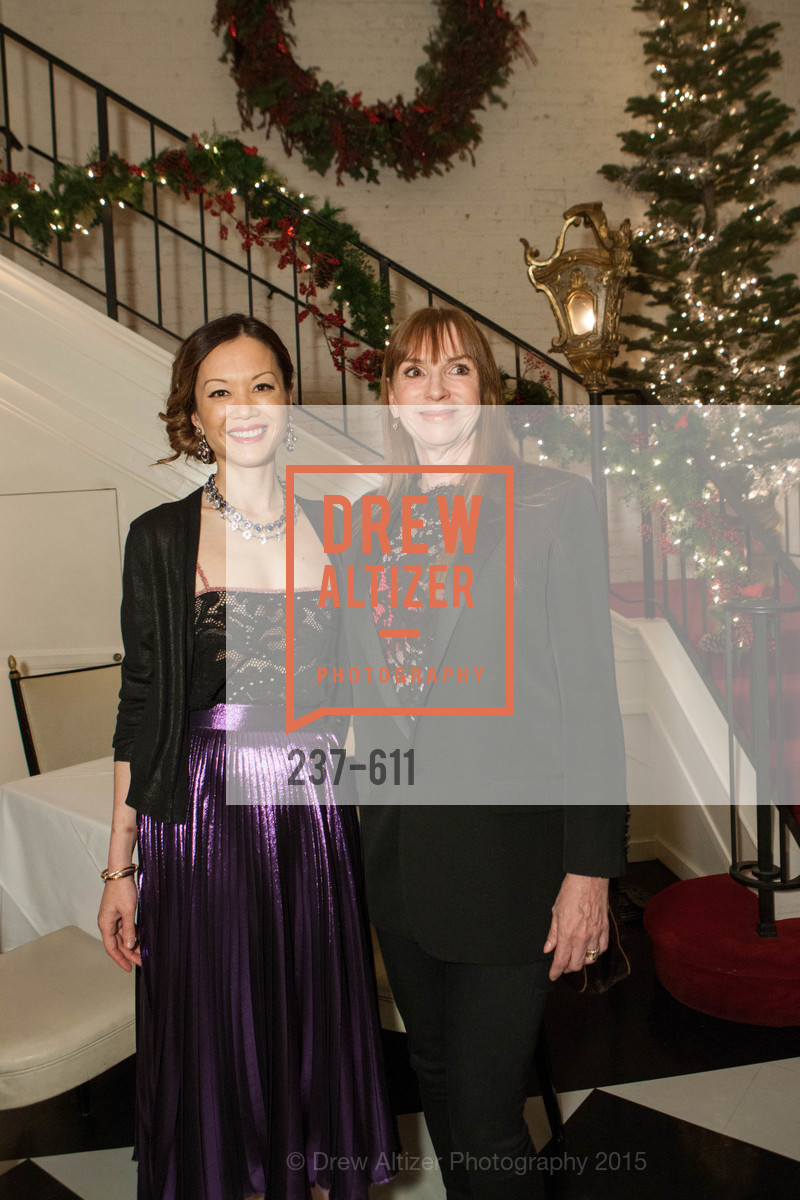 Stephanie Vo, Jeannette Saal, San Francisco Ballet Auxiliary's Gala Launch party hosted by La Perla., VILLA TAVERA. 27 HOTALING PLACE, December 1st, 2015,Drew Altizer, Drew Altizer Photography, full-service agency, private events, San Francisco photographer, photographer california