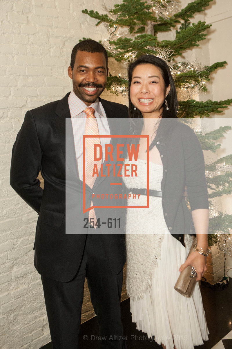 Gabriel Jones, Eri Takahashi, San Francisco Ballet Auxiliary's Gala Launch party hosted by La Perla., VILLA TAVERA. 27 HOTALING PLACE, December 1st, 2015