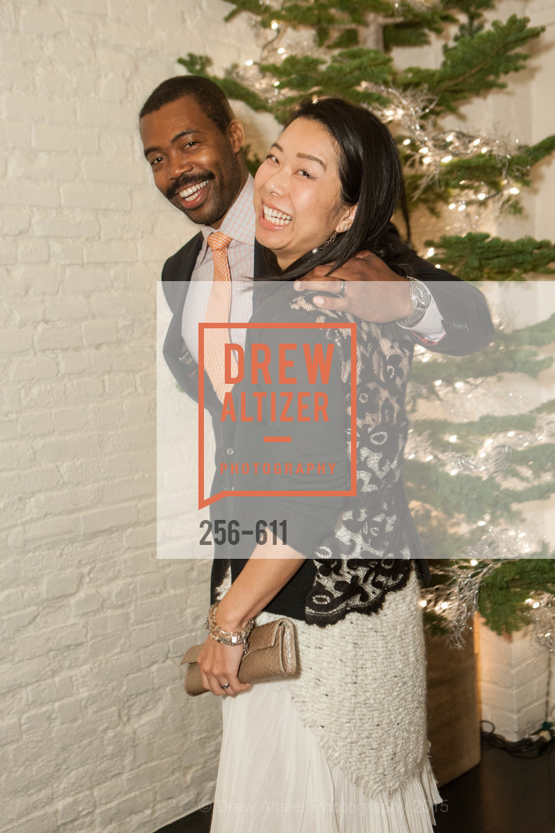 Gabriel Jones, Eri Takahashi, San Francisco Ballet Auxiliary's Gala Launch party hosted by La Perla., VILLA TAVERA. 27 HOTALING PLACE, December 1st, 2015,Drew Altizer, Drew Altizer Photography, full-service agency, private events, San Francisco photographer, photographer california