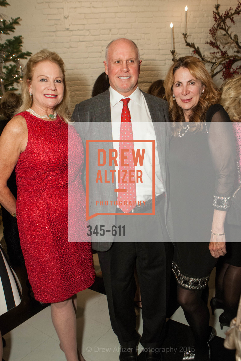 Claire Kostic, Bruce Woodward, Patricia Ferrin Loucks, San Francisco Ballet Auxiliary's Gala Launch party hosted by La Perla., VILLA TAVERA. 27 HOTALING PLACE, December 1st, 2015,Drew Altizer, Drew Altizer Photography, full-service agency, private events, San Francisco photographer, photographer california