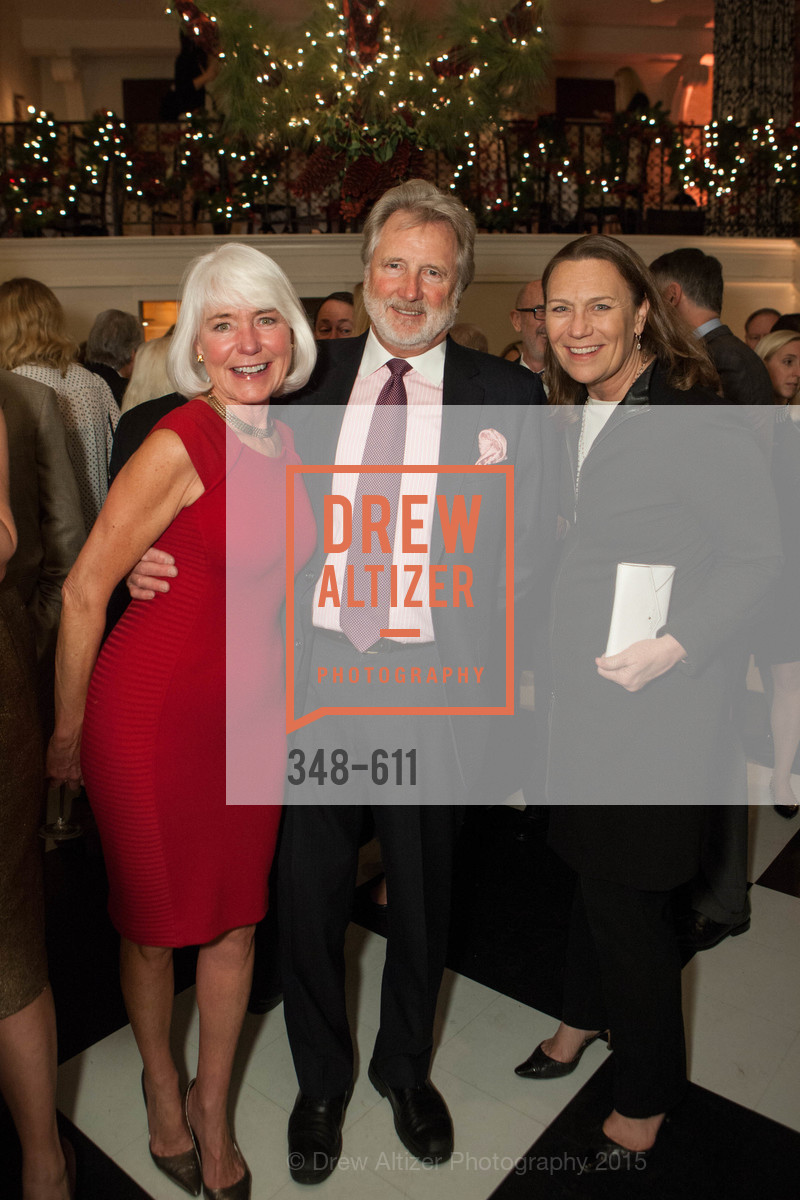 Kelli Burrill, Steve Burrill, Carla Whytmar, San Francisco Ballet Auxiliary's Gala Launch party hosted by La Perla., VILLA TAVERA. 27 HOTALING PLACE, December 1st, 2015,Drew Altizer, Drew Altizer Photography, full-service event agency, private events, San Francisco photographer, photographer California