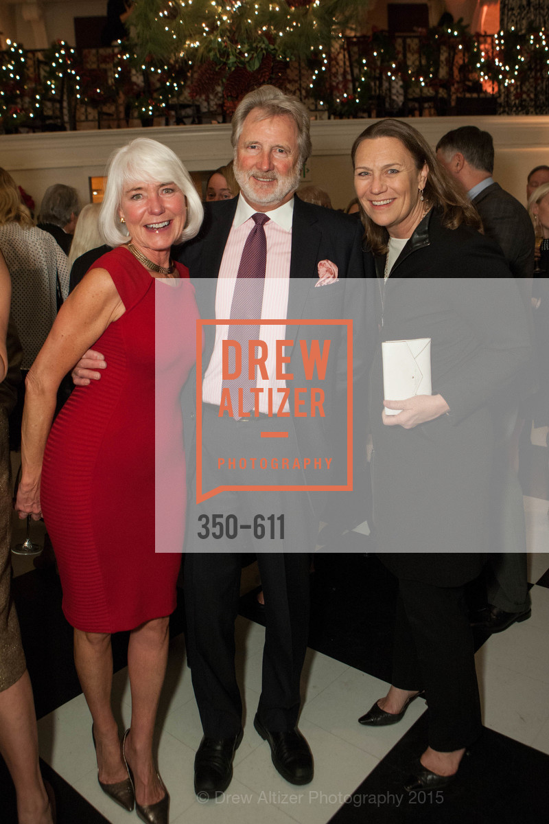 Kelli Burrill, Steve Burrill, Carla Whytmar, San Francisco Ballet Auxiliary's Gala Launch party hosted by La Perla., VILLA TAVERA. 27 HOTALING PLACE, December 1st, 2015,Drew Altizer, Drew Altizer Photography, full-service agency, private events, San Francisco photographer, photographer california
