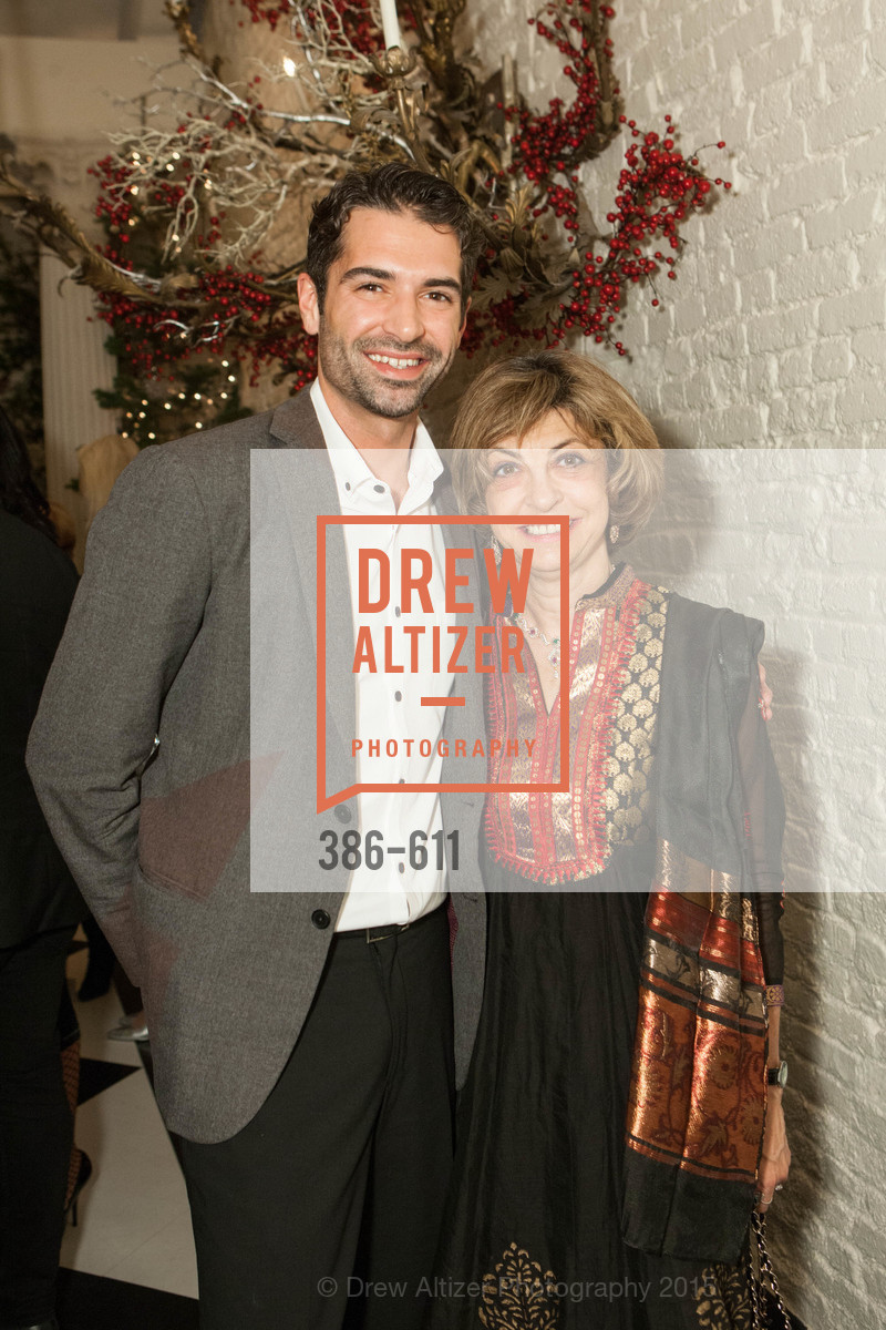 Michael O'Rourke, Ludmila Eggleton, San Francisco Ballet Auxiliary's Gala Launch party hosted by La Perla., VILLA TAVERA. 27 HOTALING PLACE, December 1st, 2015,Drew Altizer, Drew Altizer Photography, full-service agency, private events, San Francisco photographer, photographer california