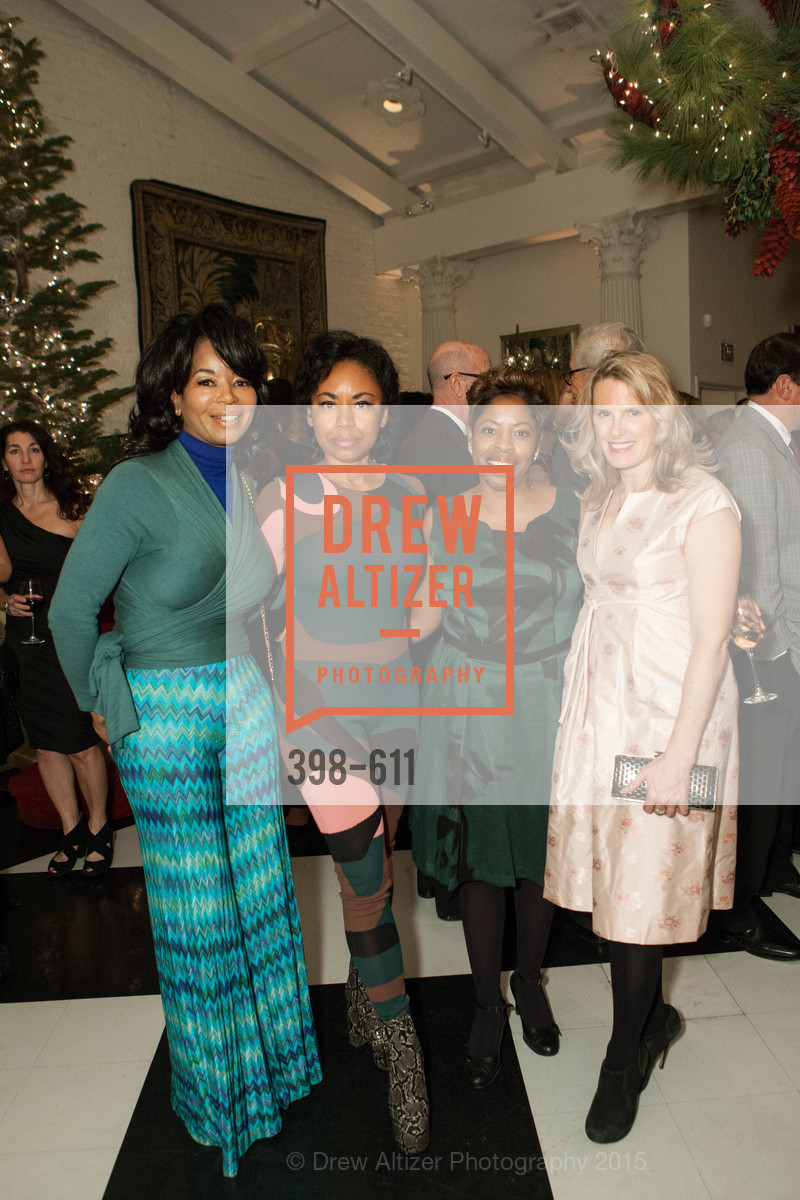 Michelle Renee, Tanya Powell, Stephanie Russell, Marie Hurabiell, San Francisco Ballet Auxiliary's Gala Launch party hosted by La Perla., VILLA TAVERA. 27 HOTALING PLACE, December 1st, 2015,Drew Altizer, Drew Altizer Photography, full-service agency, private events, San Francisco photographer, photographer california