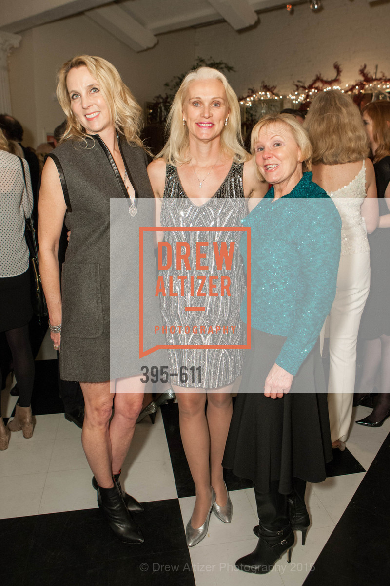 Elizabeth Mitchell, Lori Harmon, Sandy Levine, San Francisco Ballet Auxiliary's Gala Launch party hosted by La Perla., VILLA TAVERA. 27 HOTALING PLACE, December 1st, 2015,Drew Altizer, Drew Altizer Photography, full-service event agency, private events, San Francisco photographer, photographer California