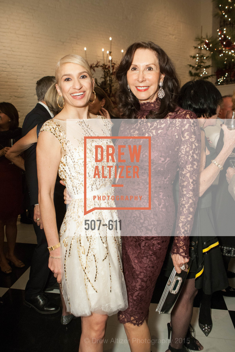 Navid Armstrong, Carolyn Chandler, San Francisco Ballet Auxiliary's Gala Launch party hosted by La Perla., VILLA TAVERA. 27 HOTALING PLACE, December 1st, 2015,Drew Altizer, Drew Altizer Photography, full-service agency, private events, San Francisco photographer, photographer california