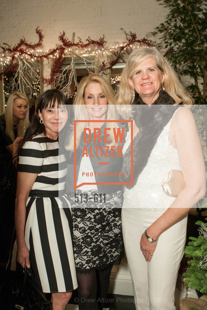France Szeto, Jeannie Harris, Meg Ruxton, San Francisco Ballet Auxiliary's Gala Launch party hosted by La Perla., VILLA TAVERA. 27 HOTALING PLACE, December 1st, 2015,Drew Altizer, Drew Altizer Photography, full-service agency, private events, San Francisco photographer, photographer california