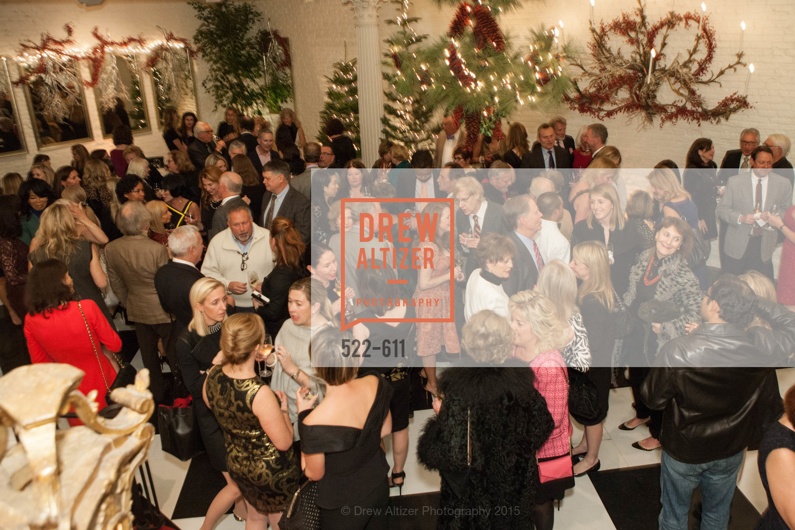 Atmosphere, San Francisco Ballet Auxiliary's Gala Launch party hosted by La Perla., VILLA TAVERA. 27 HOTALING PLACE, December 1st, 2015,Drew Altizer, Drew Altizer Photography, full-service agency, private events, San Francisco photographer, photographer california