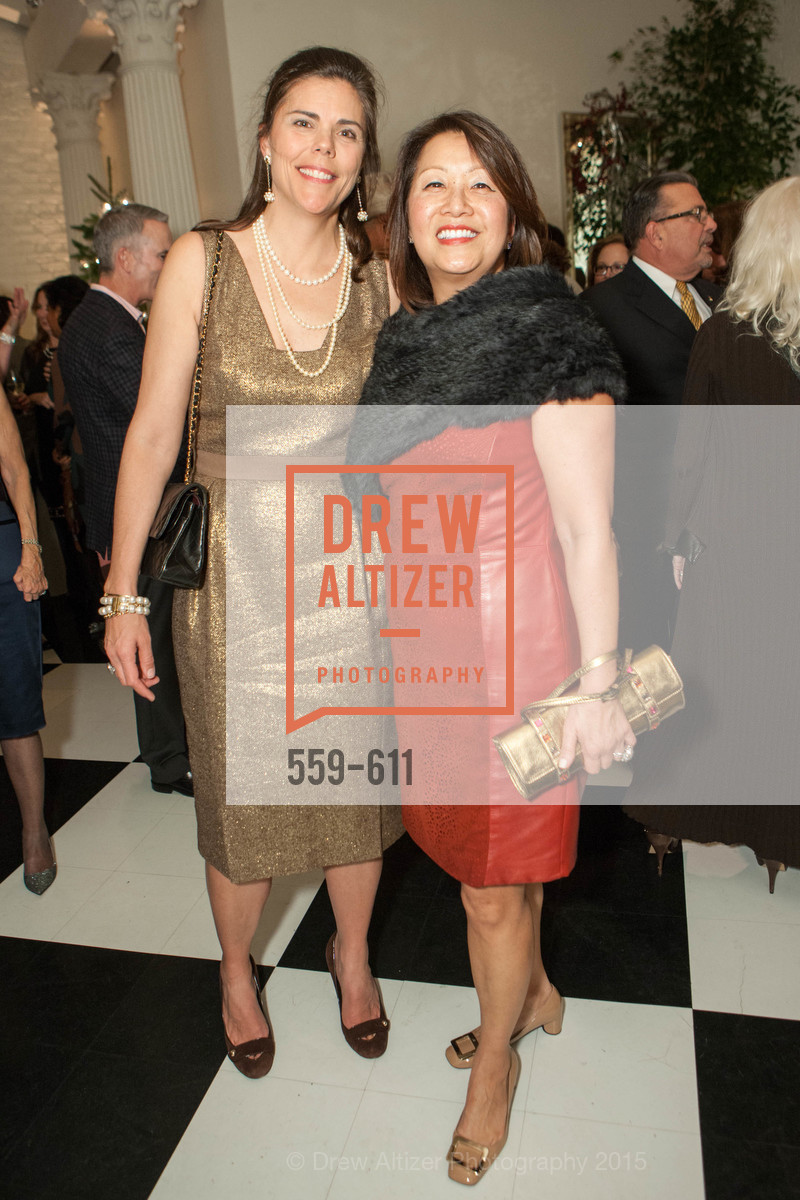 Trecia Knapp, Debbie Hemingway, San Francisco Ballet Auxiliary's Gala Launch party hosted by La Perla., VILLA TAVERA. 27 HOTALING PLACE, December 1st, 2015,Drew Altizer, Drew Altizer Photography, full-service agency, private events, San Francisco photographer, photographer california