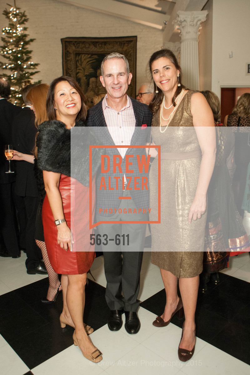 Debbie Hemingway, Jeffrey Gibson, Trecia Knapp, San Francisco Ballet Auxiliary's Gala Launch party hosted by La Perla., VILLA TAVERA. 27 HOTALING PLACE, December 1st, 2015,Drew Altizer, Drew Altizer Photography, full-service agency, private events, San Francisco photographer, photographer california