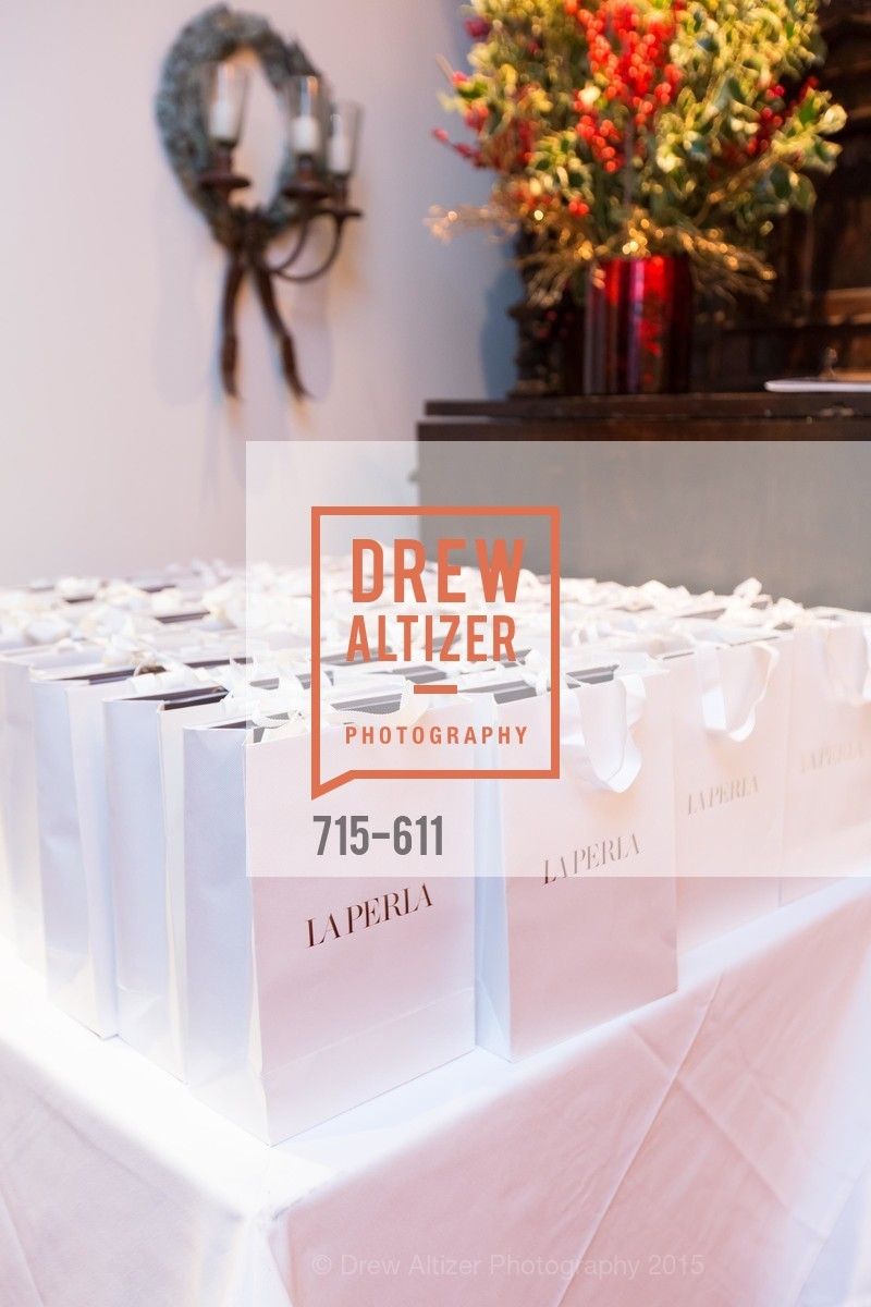Atmosphere, San Francisco Ballet Auxiliary's Gala Launch party hosted by La Perla., VILLA TAVERA. 27 HOTALING PLACE, December 1st, 2015,Drew Altizer, Drew Altizer Photography, full-service event agency, private events, San Francisco photographer, photographer California