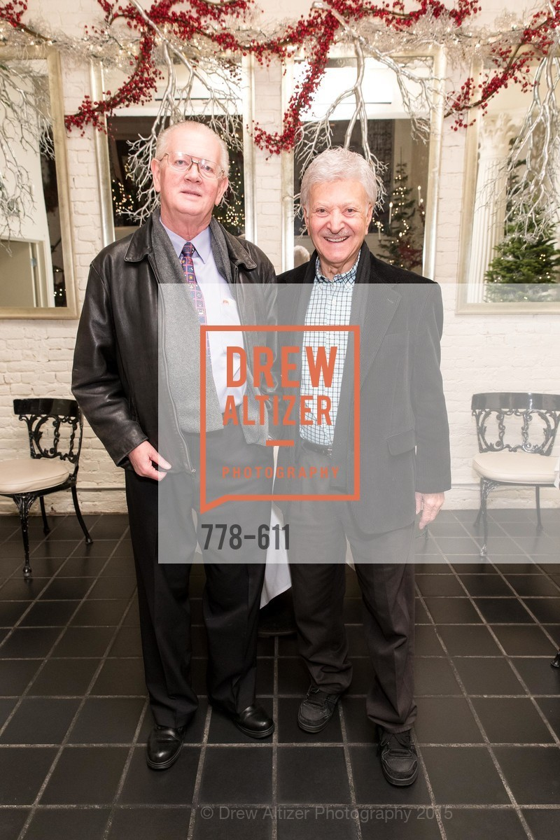 Tom Foutch, Milton Mosk, San Francisco Ballet Auxiliary's Gala Launch party hosted by La Perla., VILLA TAVERA. 27 HOTALING PLACE, December 1st, 2015,Drew Altizer, Drew Altizer Photography, full-service event agency, private events, San Francisco photographer, photographer California