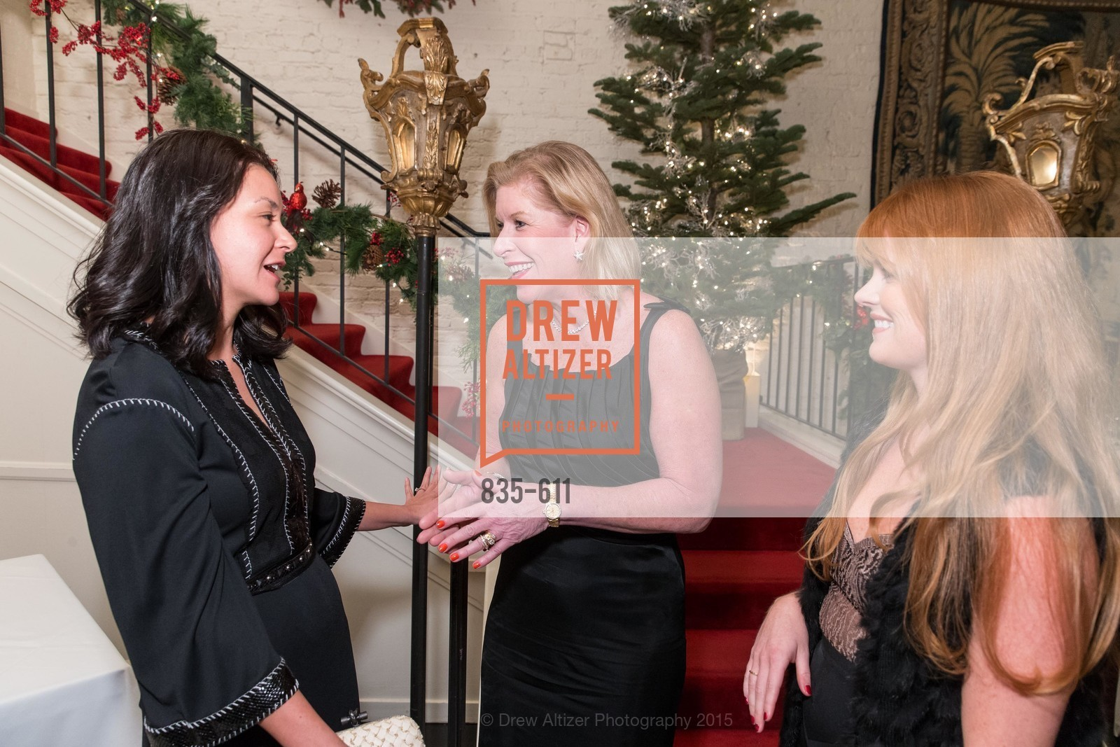 Phoebe Mireles, Jennifer Brandenburg, Lynn Yeager, San Francisco Ballet Auxiliary's Gala Launch party hosted by La Perla., VILLA TAVERA. 27 HOTALING PLACE, December 1st, 2015,Drew Altizer, Drew Altizer Photography, full-service agency, private events, San Francisco photographer, photographer california