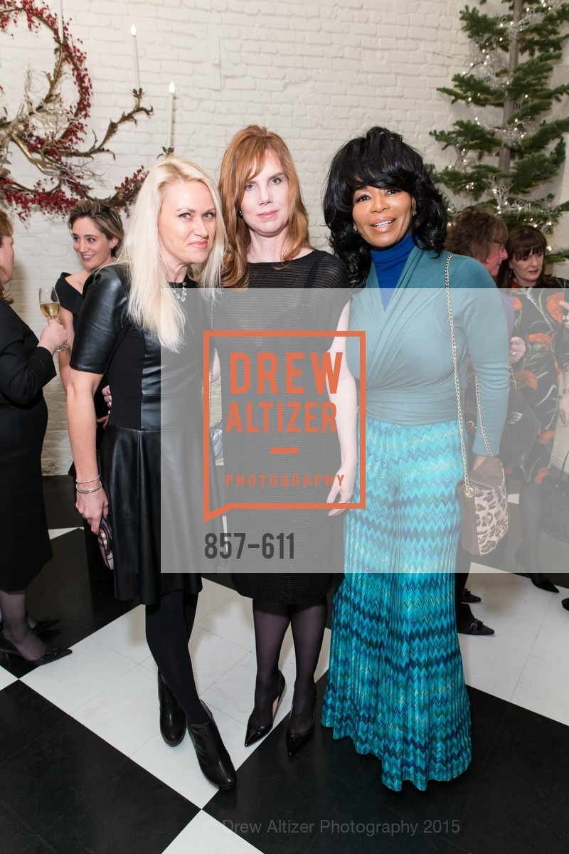 Maria Ralph, Brenda Leff, Michelle Renee, San Francisco Ballet Auxiliary's Gala Launch party hosted by La Perla., VILLA TAVERA. 27 HOTALING PLACE, December 1st, 2015,Drew Altizer, Drew Altizer Photography, full-service agency, private events, San Francisco photographer, photographer california