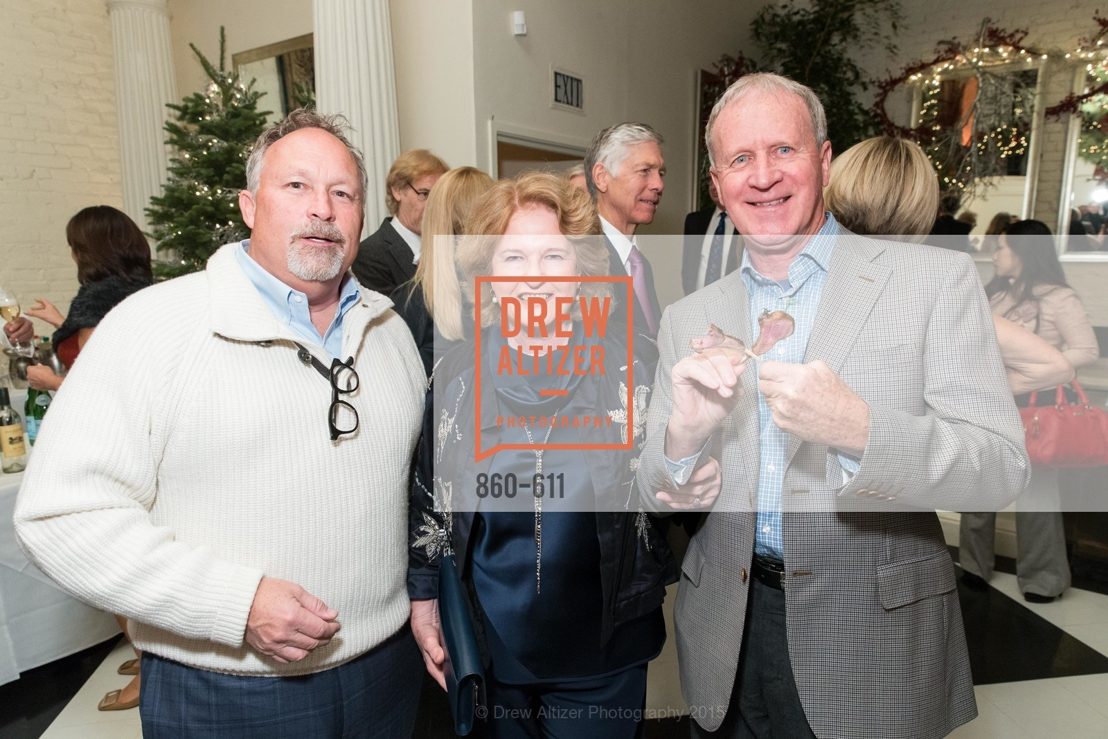 MIles Woodlief, Rene Hollins, Brian Hollins, San Francisco Ballet Auxiliary's Gala Launch party hosted by La Perla., VILLA TAVERA. 27 HOTALING PLACE, December 1st, 2015,Drew Altizer, Drew Altizer Photography, full-service event agency, private events, San Francisco photographer, photographer California