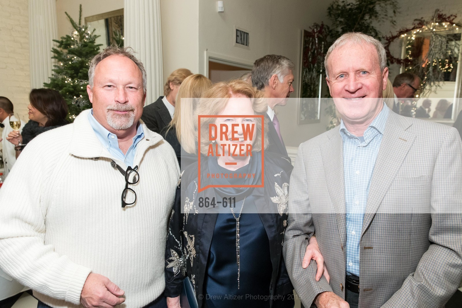 MIles Woodlief, Rene Hollins, Brian Hollins, San Francisco Ballet Auxiliary's Gala Launch party hosted by La Perla., VILLA TAVERA. 27 HOTALING PLACE, December 1st, 2015,Drew Altizer, Drew Altizer Photography, full-service agency, private events, San Francisco photographer, photographer california