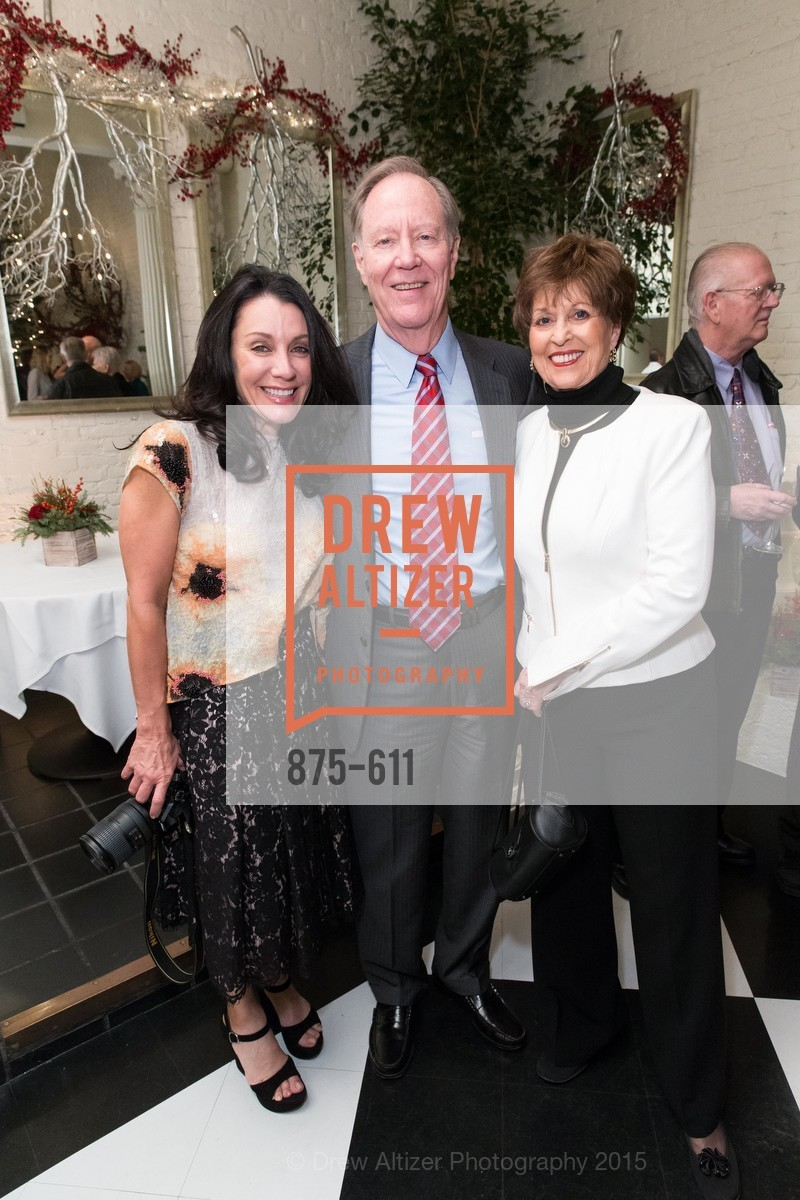 Deborah Taylor, Charlie Thornton, Suzanne Thornton, San Francisco Ballet Auxiliary's Gala Launch party hosted by La Perla., VILLA TAVERA. 27 HOTALING PLACE, December 1st, 2015,Drew Altizer, Drew Altizer Photography, full-service agency, private events, San Francisco photographer, photographer california
